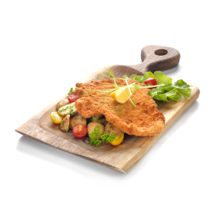 Gigantic Schnitzel, with parsley potato