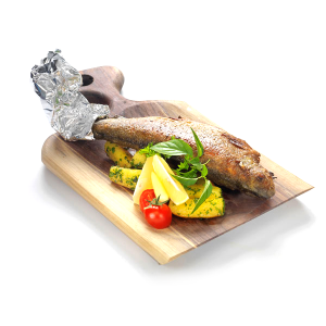 Trout with fresh spices, with parsley potato