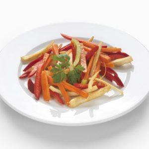 Pan vegetable straw