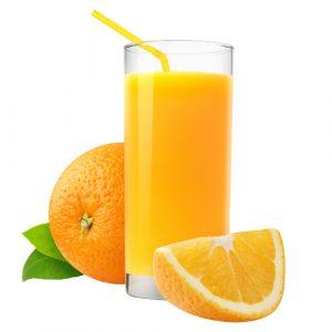 Frissen facsart narancslé 3 dl