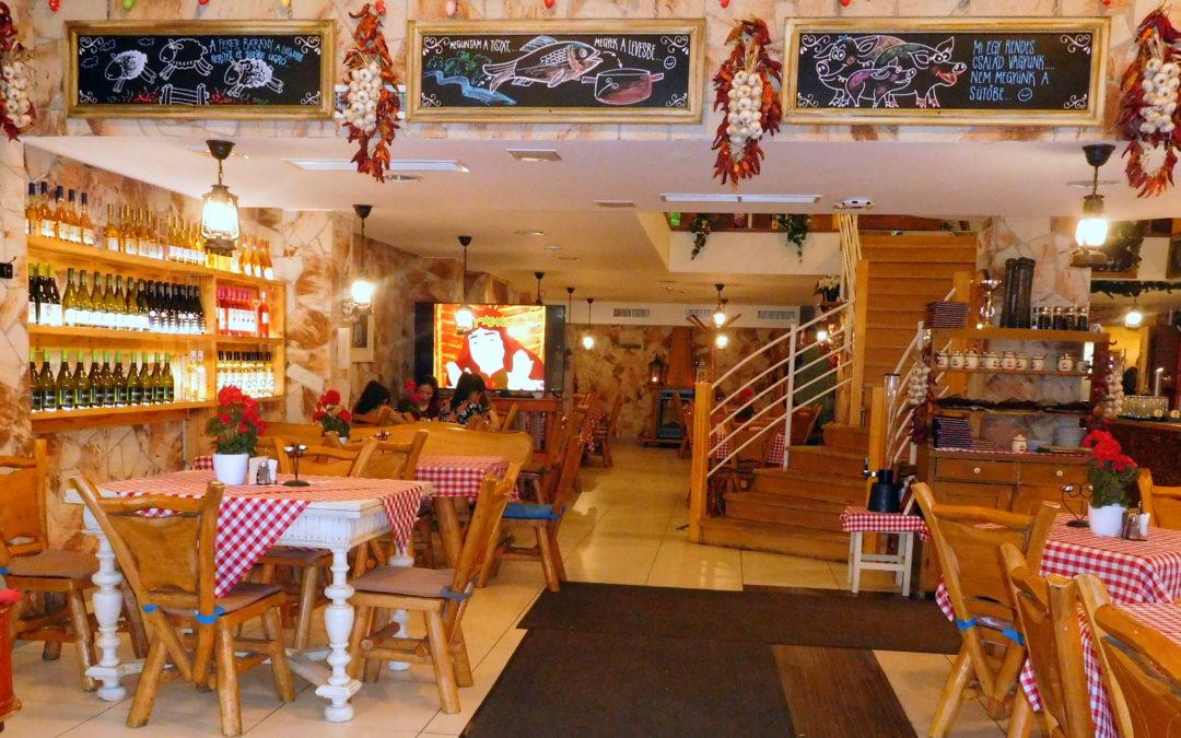 Magyaros étterem Budapest belvárosában