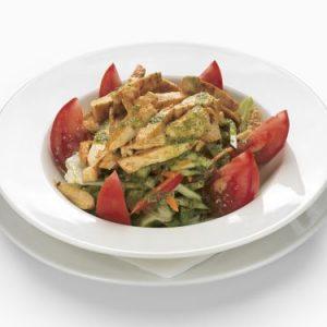 Zöldség saláta mix Nagyi kertjéből csirkemell csíkokkal