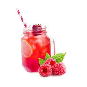 Fresh fruit lemonade with raspberries 0.5 l
